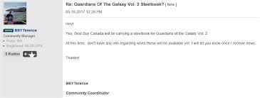 Guardians Of The Galaxy Vol 2 4K 3D 2D Blu Ray SteelBook Best