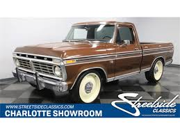 100 1974 Ford Truck F100 For Sale ClassicCarscom CC1187697