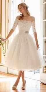 24 Gorgeous Tea Length Wedding Dresses Pinterest
