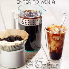 Enter To Win A Starbucks Pour Over Iced Coffee Brewer