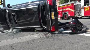 100 Fire Truck Accident 10 Hurt In 3Vehicle Crash Involving In Queens FDNY