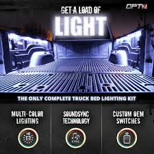 AURA® 8pc Truck Bed LED Lighting Kit - Multi-Color Bright Work Light ... 60 Trailer Turn Signal Truck Reversing Brake Running Drl Tailgate Bed Tool Box Light Kit With Autooff Delay Switch 4pc 12inch 201518 Ingrated F150 Cargo Area Premium Led Lights F150ledscom Led Lights For Of Decor 8 Blue Rock Pods Lighting Xprite Multi Color 4 To 6 Boogey Amazoncom Mictuning 2pcs White Strip Magnetic Under The Rail Lux Systems 92 5 Function Trucksuv Bar Reverse Strips Trucks