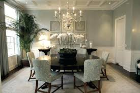 Dining Room Curtains With Gray Walls Brooks Interiors Skies