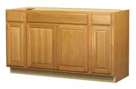 value choice 60 huron oak standard 4 door sink base cabinet at