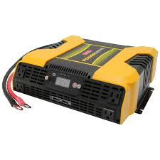 3000 Watt Power Inverter With 4 AC, 2 USB, APP With Bluetooth ... 2500 Watt Power Invter With 5000 Surge 300 Watt Dc12v To Ac2230v240v Car Convter Modified Sine Wave Pure Power Invter 36000w 24v 240v Aus Plug Truck New Super For Truck And Bus Market Projecta Powerdrive 2000watt 4 Ac 2 Usb App Digital Display 12v 220v Dc 1000w 2000w 3000w 600 24 Volt Ampeak To 110v Truckrv Battery Solutions Invert Invters Purkeys Mkm2000 121g Hot Sale Modified Sine Dc Ac Bright 12volt 3500watt Invterpw350012