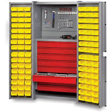 Edsal Economical Storage Cabinets by Industrialsupplies Compact Cabinet 18x18x66