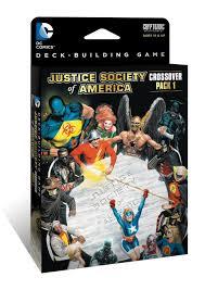 amazon com dc comics deck building game crossover pack 1 jsa