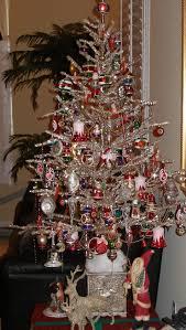 Vintage Silver Christmas Trees