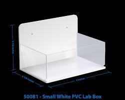 TrippNT Wall Mountable PVC Acrylic Lab Boxes