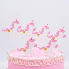 einhorn kuchen topper geburtstag kuchen dekoration in kinder der ersten geburtstag dessert tisch dekoration produkte buy glücklich geburtstag