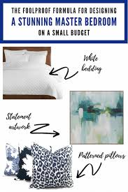 the easiest ways to create a chic and serene master bedroom