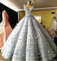100 Where Is Dhgate Located V Neck Ball Gown Hand MAde Flower Beautiful Sleeveless Appliques