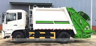 Waste Compactor Truck Dongfeng 10 CBM Garbage Truck Suppliers,China ...