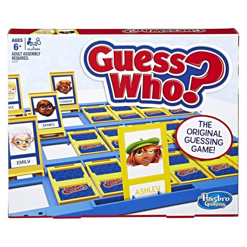 Guess Who HG-C2124 Classic Board Game