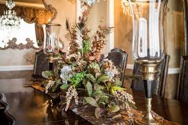 Floral Centerpieces For Dining Room Tables by Set Your Table With Holiday Decor