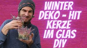 trend deko winter 2020 windlicht mit heide selber dekoreiren wohnzimmer deko mit kerze im glas