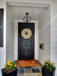 Wreath: Homegoods, Mat: Frontgate, Mailbox: PotteryBarn ... Jenny Castle Design Outdoor Spring Things Creating An Inviting Fall Front Porch Pottery Barn Plant Stunning Planters For Sale On Really Beautiful Usa Home Decor Trwallpatingdiyenroomdecorpotterybarn Startling Blue Diy Cement Craft Diane And Dean My Patio Progress California Casual Hamptons Backyard Style Articles With Tuscan Tag Excellent 1 Brittany Garbage Can Shark Trash Vintage Mccoy Green