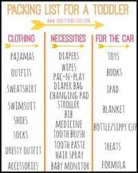 Packing List For A Toddler 822x1024