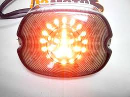Harley Davidson Light Fixtures by Harley Davidson Led Tail Light Youtube