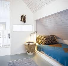 12 Wood Paneled Alcove Beds Winter Edition Remodelista A Swedish Bedroom Via My Scandinavian Retreat Drum For Bedside Table
