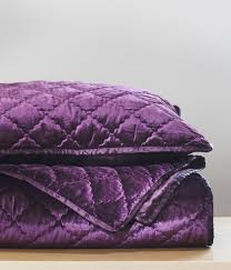 Purple Velvet King Headboard by Add Luxury To Your Bedroom With Our Plum Velvet Coverlet