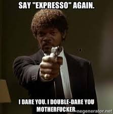 When Baristas Mispronounce The Word Espresso