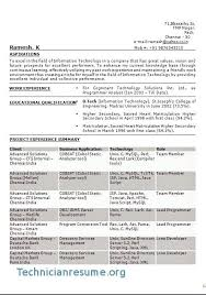 Free Information Technology Resume Samples Resumes Format For It Consulting Students Examples 2017 Sample