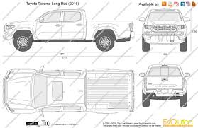 100 Pickup Truck Bed Dimensions 2017 Toyota Tacoma Thestartupguideco