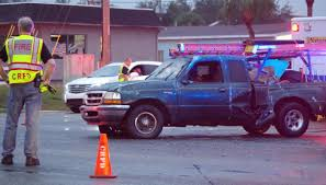 100 Truck Slides Three Hospitalized After Truck Slides On Wet Road Rearends SUV