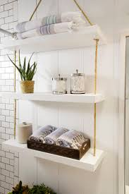 Bathroom Wall Cabinet With Towel Bar White by House Bathroom Hanging Shelves Pictures Bathroom Floating Wall