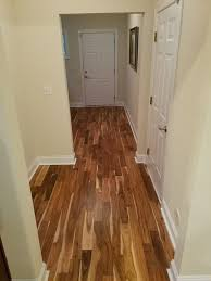 Hardwood Entryway And Dining Room Installation