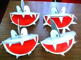 Shark Crafts For Toddlers Toddler Summer Craft Homemade With Paper Plates Under The