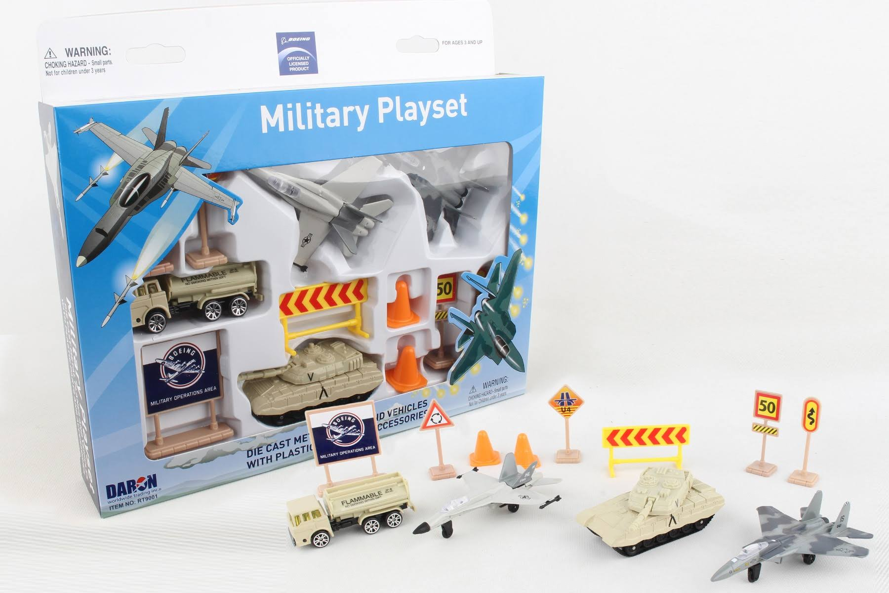 Daron RT9001 Boeing Military Playset