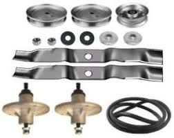 murray 42 lawn tractor mower deck parts kit spindles blades belt