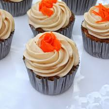 The Very Best Moist Carrot Cake Cupcakes Recipe ""