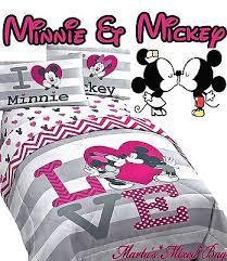 minnie mouse bedding set