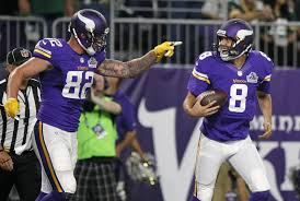 Kyle Rudolph Emerging As Go-to Man For Minnesota Vikings QB Sam ... 8 Reasons The Vikings Wont Shouldnt Trade Adrian Peterson Wcco Opposing Defenses Do Not Want To See Join Aaron Oklahoma Sooners Signed X 10 Vertical Crimson Is Petersons Time In Minnesota Over Running Back 28 Makes A 18yard Teammates Of Week And Chase Ford Daily Norseman Panthers Safety Danorris Searcy Out Of Ccussion Protocol Steve Deshazo Proves If Redskins Can Run They Win Fus Ro Dah Trucks William Gay Youtube What Does Big Game Mean For The Seahawks Upcoming Hearing Child Abuse Case Delayed Bring Best