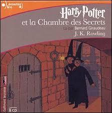 la chambre des secrets harry potter 8 cd audio 8hr lus par bernard giraudeau tome 2