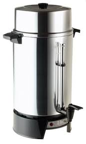 West Bend 33600 100cup Commercial Coffee Urn