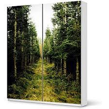 creatisto möbel folie passend für ikea pax schrank 236 cm höhe schiebetür i möbelfolie möbel sticker aufkleber i deko ideen wohnung für