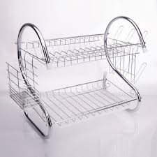 Zimtown Kitchen Dish Cup Drying Rack Bowl Rack Holder Sink Drainer