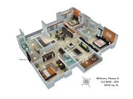 100 Modern Houses Blueprints Floor Plan Bhk Collection Also Outstanding Bedroom House