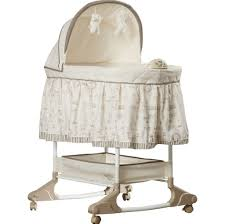 Eddie Bauer Rocking Chair by Furniture Nice White And Taupe Color Portable Rocking Bassinet