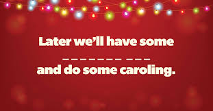 Who Sings Rockin Around The Christmas Tree by You U0027re An Honorary Elf If You Can Complete These Christmas Carol