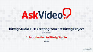 100 Studio 101 Bitwig Creating Your 1st Bitwig Project 1 Introduction To Bitwig