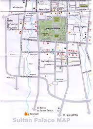 Sultan Palace Yogyakarta Map Tourism Travel Guides