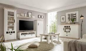 home affaire wohnwand florenz 2 set 4 tlg im romatischen landhauslook