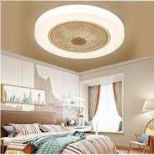 weiß 58cm moderne led decke fan len mit lichter