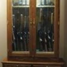 Wooden Gun Cabinet With Etched Glass by Custom Gun Cabinets Gun Cases Gun Racks U0026 Gun Storage