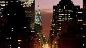 New York City city lights Empire State Building wallpaper